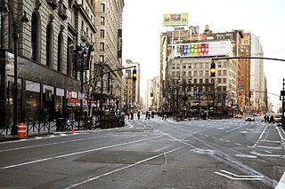 Neighborhood in Manhattan in New York City, New York