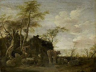 A herdsman's hut