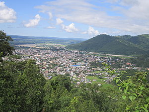 Hetauda - A view of Hetauda from the hills