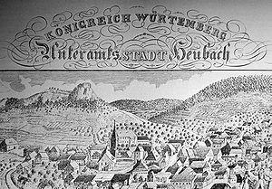 Heubach - Heubach in 1830