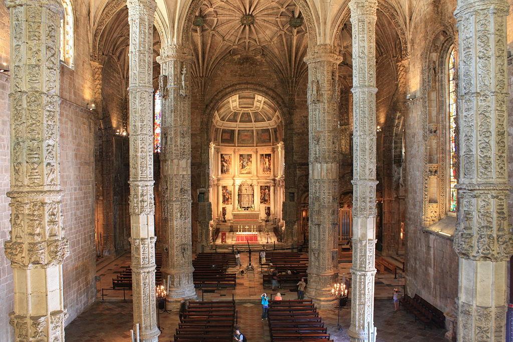 Hieronymus-Kloster kirche innen