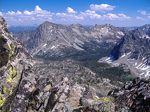 Tukudeka - Image: High in the Sawtooths