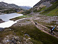 Hiking the Chilkoot Trail, near Crater Lake.jpg