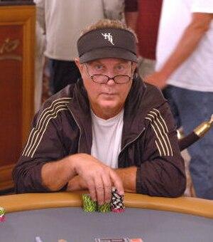 Hilbert Shirey - Shirey at the 2006 World Series of Poker
