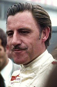 Photo en portrait de Graham Hill.
