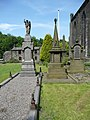 Hinchcliffe memorials, Cragg Vale, Mytholmroyd - geograph.org.uk - 840926.jpg