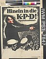 Hinein in die Kommunistischen Partei Deutschlands! (joint the German Communist Party) Art.IWMPST7847.jpg