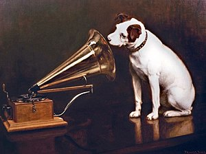 Herbert Rose Barraud - Image: His Master's Voice