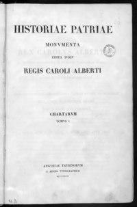 Historiae Patriae Monumenta - BEIC 10395369.tiff