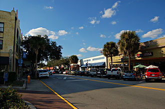 Melbourne, Florida - Downtown Melbourne in January 2009