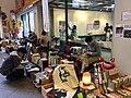 Hito tana Furuhon ichi shops, Used book market at Ina City Library.jpg