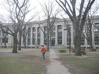 Early life and career of Barack Obama - Langdell Hall, home of the Harvard Law School library