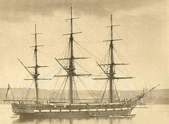 North Star affair - HMS Pearl, circa 1856
