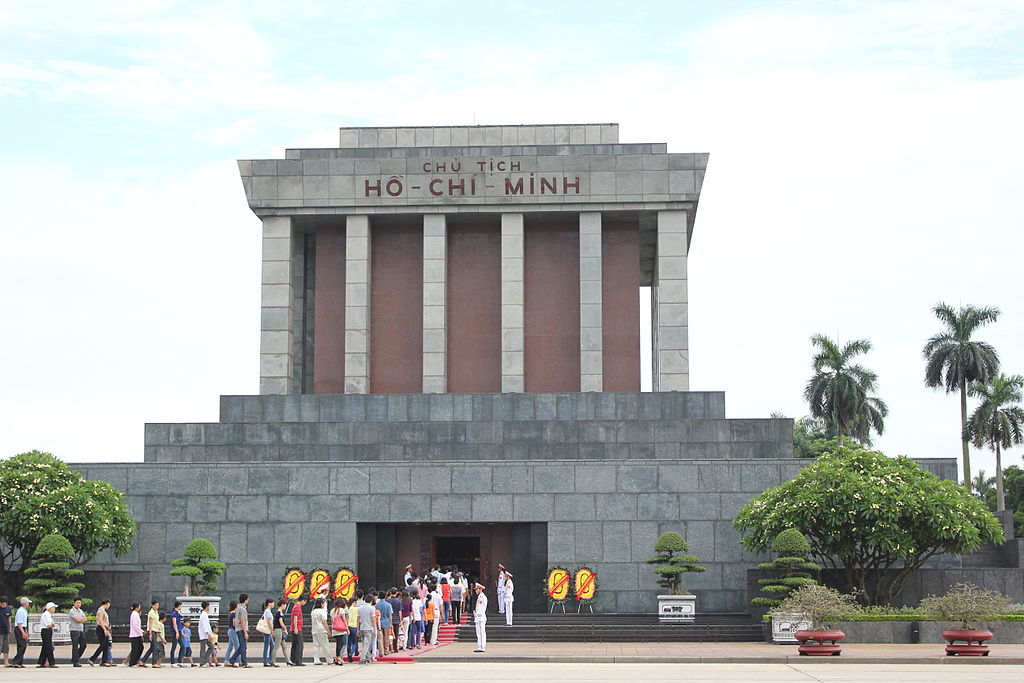 Ho Chi Minh Mausoleum from the front.JPG