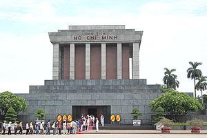 Ho Chi Minh Mausoleum - Ho Chi Minh Mausoleum in Hanoi