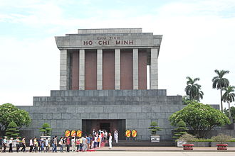 Ho Chi Minh Mausoleum - Image: Ho Chi Minh Mausoleum from the front