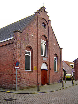 Church of the Reformed Churches in the Netherlands (Liberated) in Hoek.