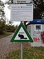 Hoerbranz-Lake Constance-Warning notice Biber-01ASD.jpg