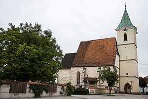Hofkirchen im Traunkreis - Image: Hofkirchen im Traunkreis Sakralbauwerk Sankt Nikolaus