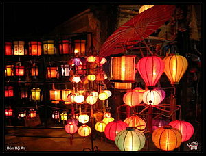 English: Hoi An's lanterns