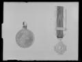 Holländsk krigsförtjänstmedalj Bali 1849 - Livrustkammaren - 44975.tif