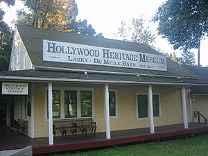 California Historical Landmark - Image: Hollywood Heritage Museum 01