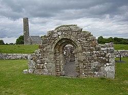 Holy Island Clare St. Brigids Church.jpg