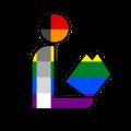 Homoflexible Pride Library Logo.png