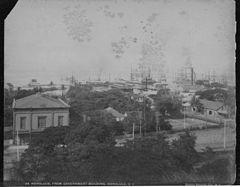 Honolulu, from Government Building, photograph by Frank Davey (PPWD-8-7-020).jpg