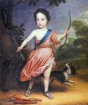 Honthorst, Gerard van - Willem III op driejarige leeftijd in Romeins kostuum - 1654.png