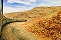 Horizons Balochistan - moving train at Bolan Balochistan.jpg