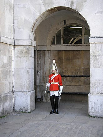 Life Guards (United Kingdom) - dismounted, without cuirass