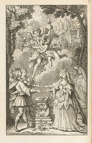 Pierre-François Godard de Beauchamps - From a 1743 edition of Les Amours d'Ismene et d'Ismenias