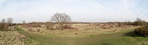 Hounslow Heath - Image: Hounslow Heath Panorama 1443