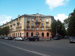House on the Karl Marx avenue (Petrozavodsk).JPG
