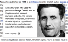 Nineteen Eighty-Four - Wikiquote
