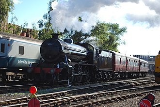 LNER Gresley K4 61994 The Great Marquess - Image: Hugh llewelyn 61994 (5367689793)