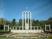 The Huguenot Monument of Franschhoek.