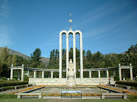 The Huguenot Monument of Franschhoek in Western Cape province, South Africa HuguenotMemorialMuseum.jpg