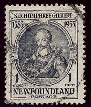 Humphrey Gilbert - Sir Humphrey Gilbert Stamp