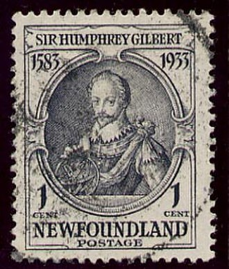 Humphrey Gilbert - Sir Humphrey Gilbert Stamp