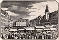 Hundert Jahre Marcus Harmelin 1830-1930 (Seite 12, Leipzig Markt zur Messzeit, 1818).jpg