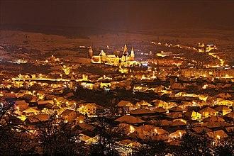Hunedoara - Image: Hunedoara skyline