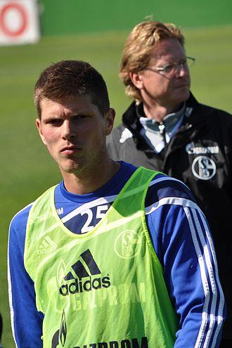 Klaas-Jan Huntelaar - Huntelaar with Schalke