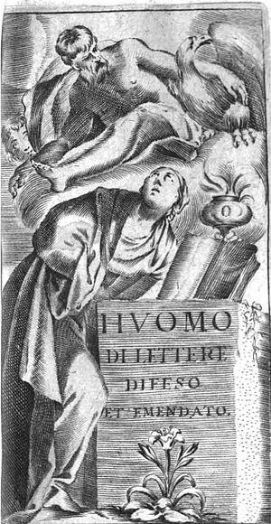 L'huomo di lettere - Venice: Giunti, 1651