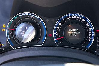Toyota Auris - Instrument cluster
