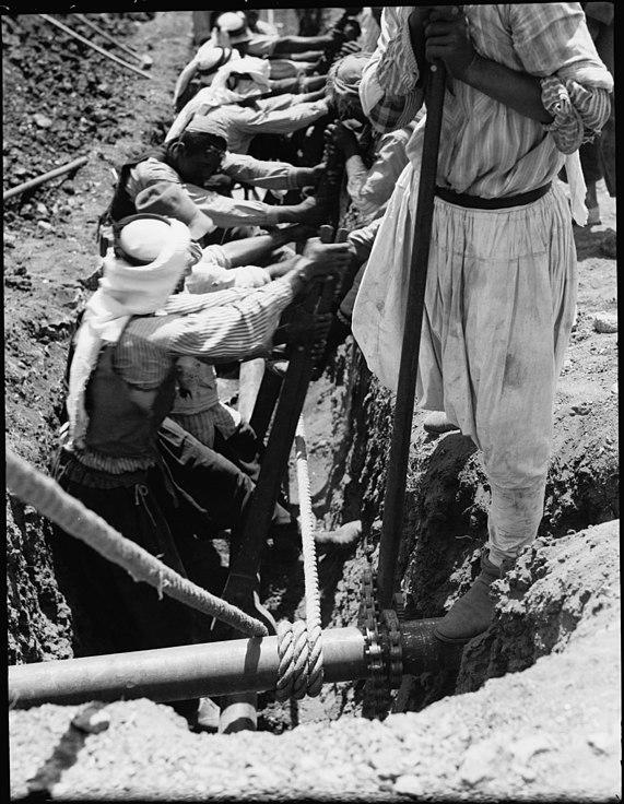 File:I P C  (i e , Iraq Petroleum Company)  Pipe line drawn