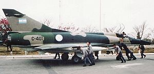 IAI Nesher - Argentine Air Force Dagger, Jujuy Airport, 1981