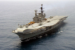 INS <i>Viraat</i> Centaur Class aircraft carrier operated by Indian navy