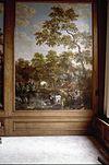 interieur, kamer, wandschilderingen (behangsels), paneel - amsterdam - 20260008 - rce
